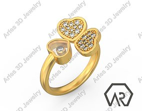 Wing Ring Option 1 3D print model