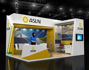4x6Mtr Exhibition stand 3D