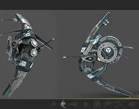 3D model Cybertech Drone V1
