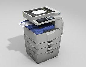 Photocopy Machine 3D asset