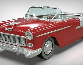 3D model Chevy Belair convertible 1955