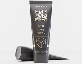 3D model care Cosmetic Tube