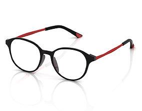 eye monocular Eyeglasses for Men and Women 3D print model