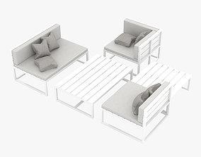 3D Patio Furniture porch