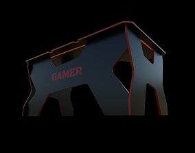 Gaming desk Generic Comfort 3D model