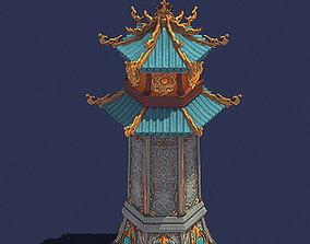 Gang - defense tower 01 3D model