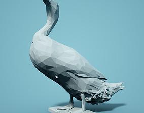 Low Poly Duck Model zoo