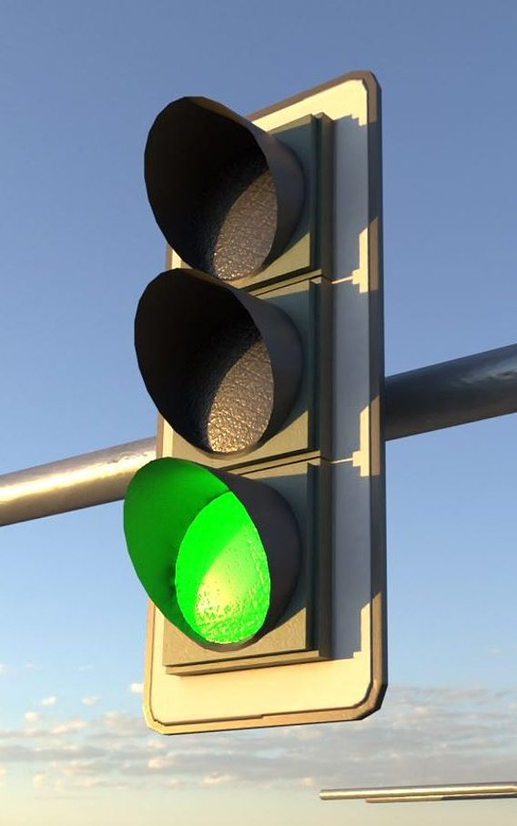 Animated Traffic Lights Construction Kit