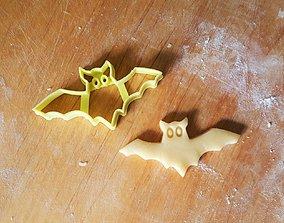 3D printable model Bat cookie cutter