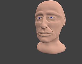Scultpter human bust with blender 3D printable model