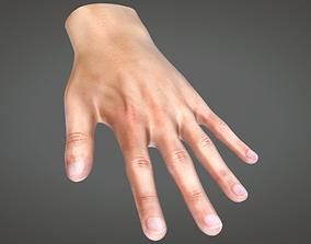 Human Hand 3D asset animated