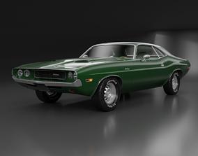 transport Dodge Challenger 1970 3D model
