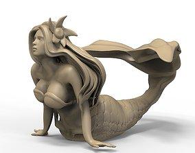3D print model Mermaid 3