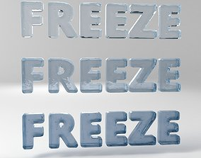 Freeze 3D asset