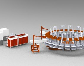 Round Machine 3D printable model