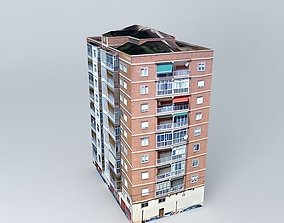 3D toad Building