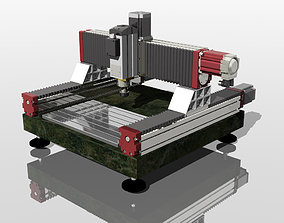 industrial 3D cnc servo machine
