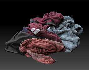 Pile of Cloths 4 3D model