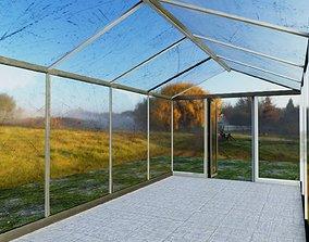 Green House Glass 3D model