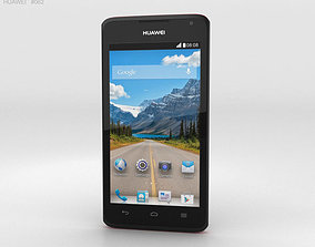3D model Huawei Ascend Y530 Red