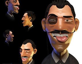 Mr Kolpachino Character 3D