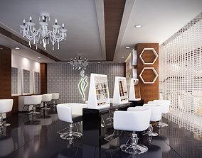 Salon and Spa 3D model