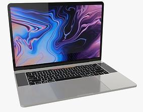 3D 2019 MacBook Pro 15 in