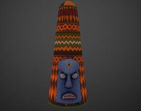 3D model Yoruba crown