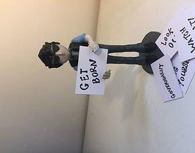 3D print model Bob Dylan