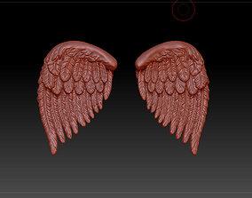 plumage 3D model wings