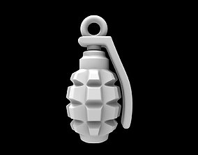pendant grenade 3D print model