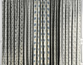 Curtain Set 50 3D