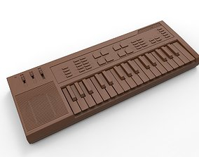 synthesizer 3D printable model