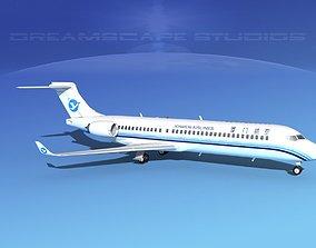 Comac ARJ21-700 Xiamen Airlines 3D
