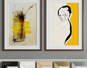 Art Frame A20 3D asset
