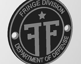 Fringe Division Key FOB 3D print model