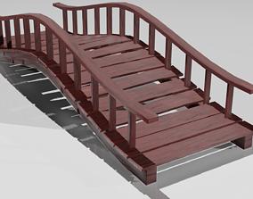 Old wooden Bridge 3D model