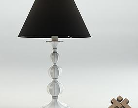 Chelini Bianco Deco Lamp 3D model