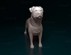 Rottweiler 3D print model
