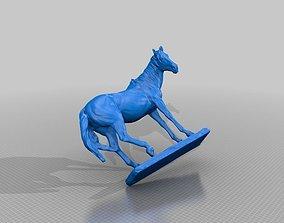 Horse Statue Color 3D Scan