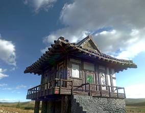3D asset japanese house