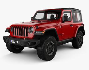 3D Jeep Wrangler Rubicon 2018