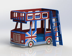 London Bus 3D kids
