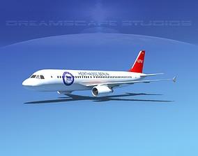 Airbus A320 LP Air Berlin 3D model