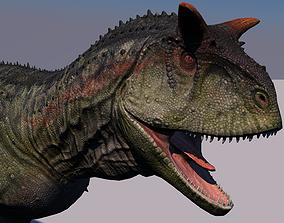 Carnotaurus Dinosaur Animated 3D model