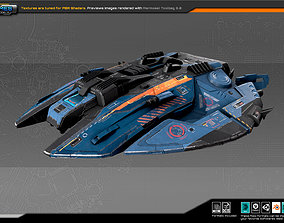 SF Fighter ZR4 3D model