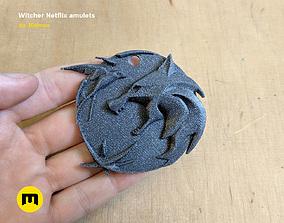 3D print model Witcher Netflix amulets