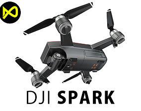 DJI Spark Mini Drone 3D