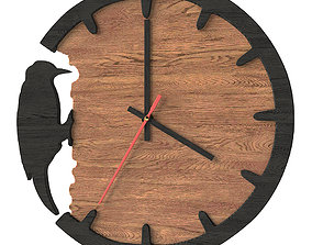 clock 3D asset game-ready Clock