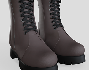 3D model Ankle Boots